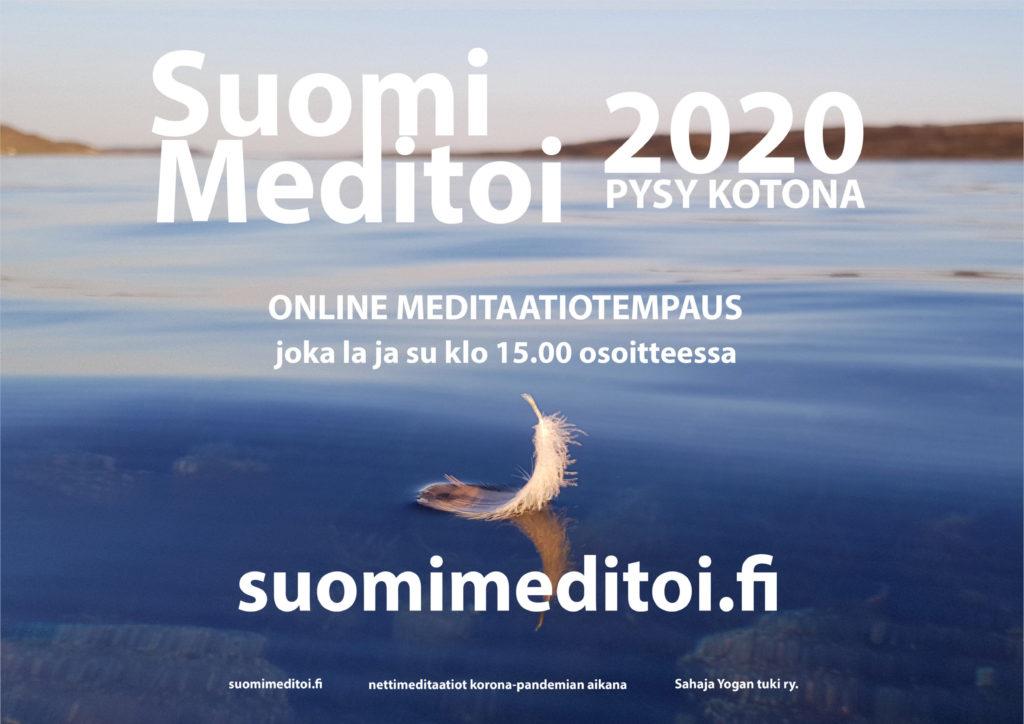 Suomi Meditoi 2020 juliste